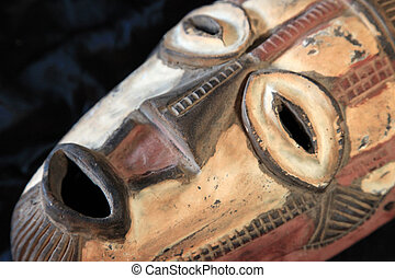 African Tribal Mask - Bande Tribe - African Tribal Wooden...