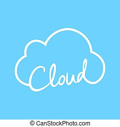 Cloud Technology symbol - an amazing illustration of Cloud...