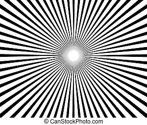 Sunburst Pattern Background - an amazing design of Sunburst...