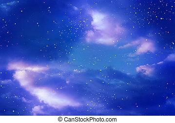 星, 天空, 夜晚