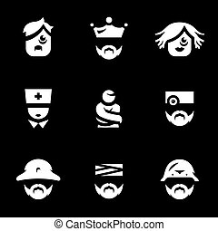 Vector Set of Nuthouse Icons.