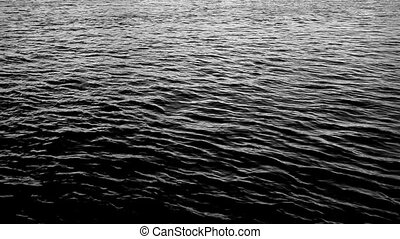 Water background by day. - Water with waves by day, may be...