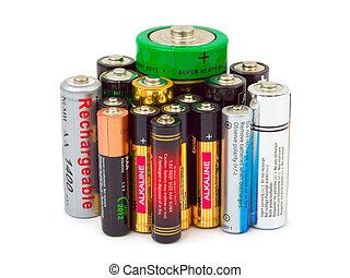 Grupo, baterias