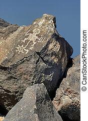 Petroglyph - Santa Fe New Mexico