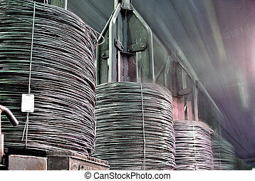 coil rod production - bull rod, coil rod, rolled wire...