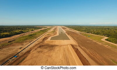 Construction of a new airport terminal.Philippines, Bohol,...