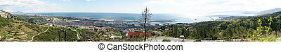 Overview Genova Sestri - Overview of Genoa Sestri from the...