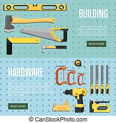 Building tools website templates for store