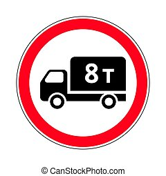 Traffic-road sign - Illustration of Road Prohibitory Sign No...