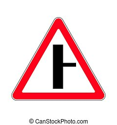 Traffic-road sign - Illustration of Triangle Warning Sign...