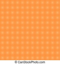 Seamless pattern with halftone elements. Orange.