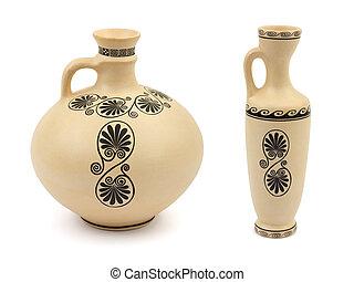 Two retro vases