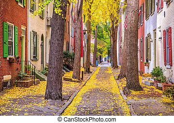 Philadelphia, Pennsylvania, USA Autumn - Philadelphia,...