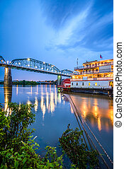 Chattanooga, Tennessee, USA on the Tennessee River