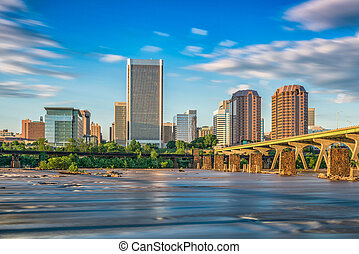 Richmond, Virginia River Skyline