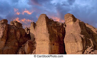 National Timna Park, located north of Eilat, Israel