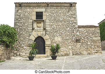Francisco Pizarro Family House in Trujillo, Spain....