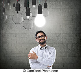 Concept of new business idea