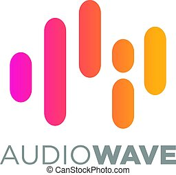Music Logo concept Sound Wave, Audio Technology - an amazing...