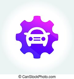 Tune Up Car Symbol - an amazing design of Tune Up Car Symbol