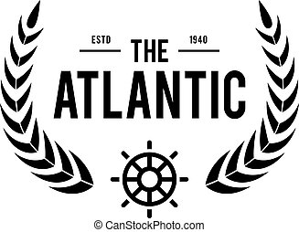 Vintage nautical labels - an amazing old style illustration...