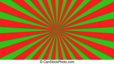 animated background of colorful rotating beams.