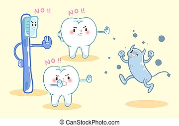 tooth healthy concept