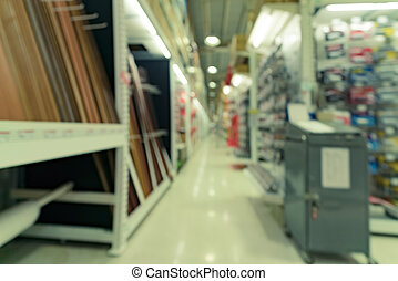 Building materials shop store