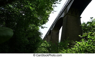 Pontcysyllte Aqueduct wrapped in a sound of bird call and...