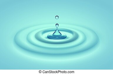 water ripple effect - water ripples, can be used as...