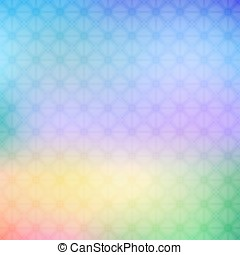 Abstract colorful geometric background in bright colors -...