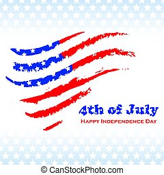 Independence day background - National USA independence day...