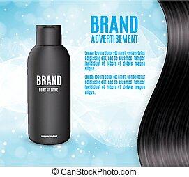 Premium shampoo ads