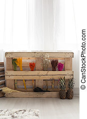 Smart upcycling idea for an old pallet