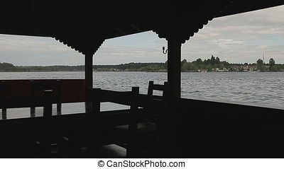 Lake View from Restaurant Shelter Deck Dining Area - Lake...