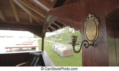 Bronze Decor High Outdoor Wall Light Lamp - Bronze decor...