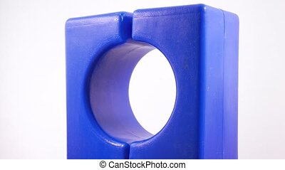 Plastic toy arch rotation - Rotation of children's plastic...