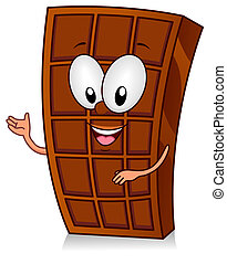 Chocolate Bar Gesture - Illustration of a Chocolate Bar...