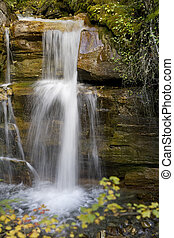 Small Waterfall - A beautiful Waterfall surrounds by a...