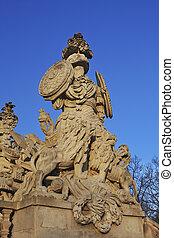 Statue in Schonbrunn Vienna