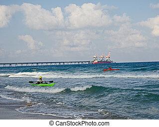 Israeli seashore
