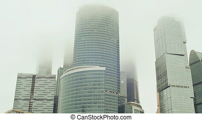 Moscow. New architectural high-rise buildings. Evolutionary...