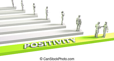 Positivity Mindset for a Successful Business Concept