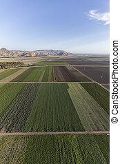 カリフォルニア, 農地, 航空写真,  camarillo