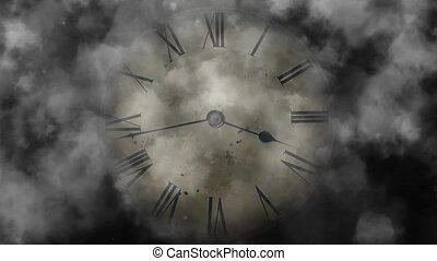 Watch quickly go. Time Lapse Clock. Mystic Time.