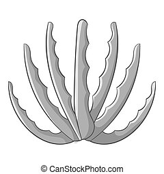 Agave icon monochrome - Agave icon in monochrome style...