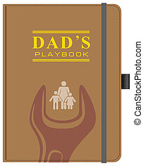 Dad's Playbook - Gift book for dad - Dad's Playbook