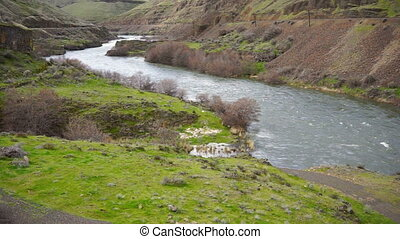 Wild Deschutes River Outside Maupin Oregon - The Deschutes...