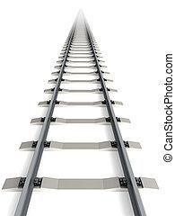 isolated railway