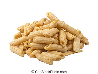 isolated corn stick or pasta puff image